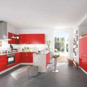 Czerwona kuchnia. Pomysły na ciekawe wnętrze