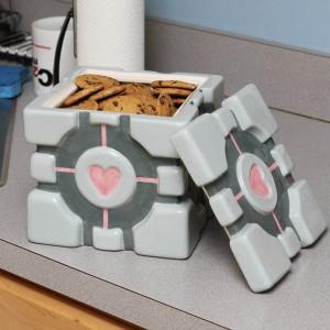 Oruginalne pudełko na ciasteczka, sucharki czy płatki śniadaniowe. Fot. The Gift Oasis.