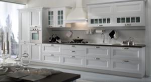 Stylizowane fronty mebli, przeszklenia ze szprosami, kamienne, ozdobne blaty. Tak urządzona kuchnia wymaga odpowiednio dobranego sprzętu AGD. Zobaczcie, co proponują producenci!
