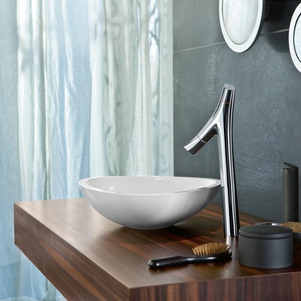 Wysokie baterie do łazienki – najciekawsze modele umywalkowe