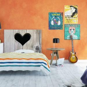 Dekoracyjny zagłówek odmieni wnętrze każdej sypialni. Fot. Noyo home.