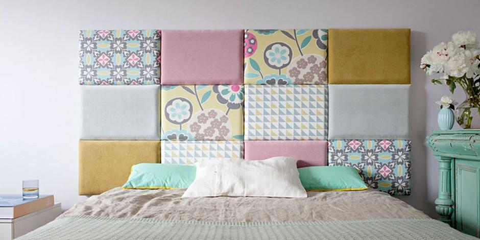 modu owy tapicerowany dekoracyjny zag wek pomys na szybk metamorfoz sypialni. Black Bedroom Furniture Sets. Home Design Ideas