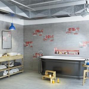 Kolekcja Loft firmy Ceramstic to subtelna strona betonu. Sprawdzi się we wnętrzach w stylu loft. Fot. Ceramstic.