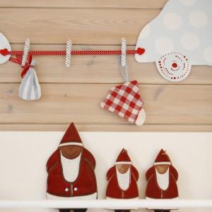 Lniane dekoracje zdominowały także pokój dziecięcy. Fot. Bartosz Jarosz.