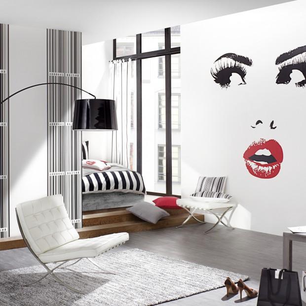 Ściany w salonie. Zobaczcie najpiękniejsze tapety