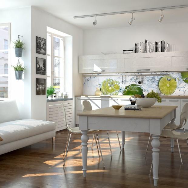 Biała, modna kuchnia. Tak ożywisz ją kolorem