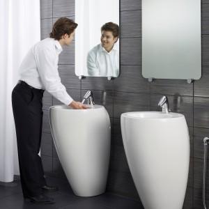 Do mycia luster znakomicie nadaje się woda z octem w stosunku 4:1. Taki płyn można przelać do butelki ze spryskiwaczem lub umyć lustro namoczoną w nim ściereczką. Fot. Oras.