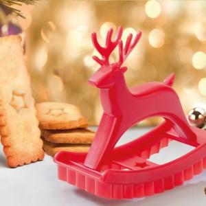 Oryginalna forma do wykrawania ciastek przyda się podczas  przygotowywania świątecznych wypieków. Fot. PA Design.