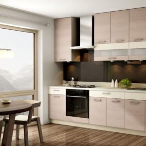 Zabudowę pod sam sufit umożliwia zestaw KAMduo XL. To sposób na ergonomiczną kuchnię urządzoną praktycznie na jednej ścianie. Fot. Kam.