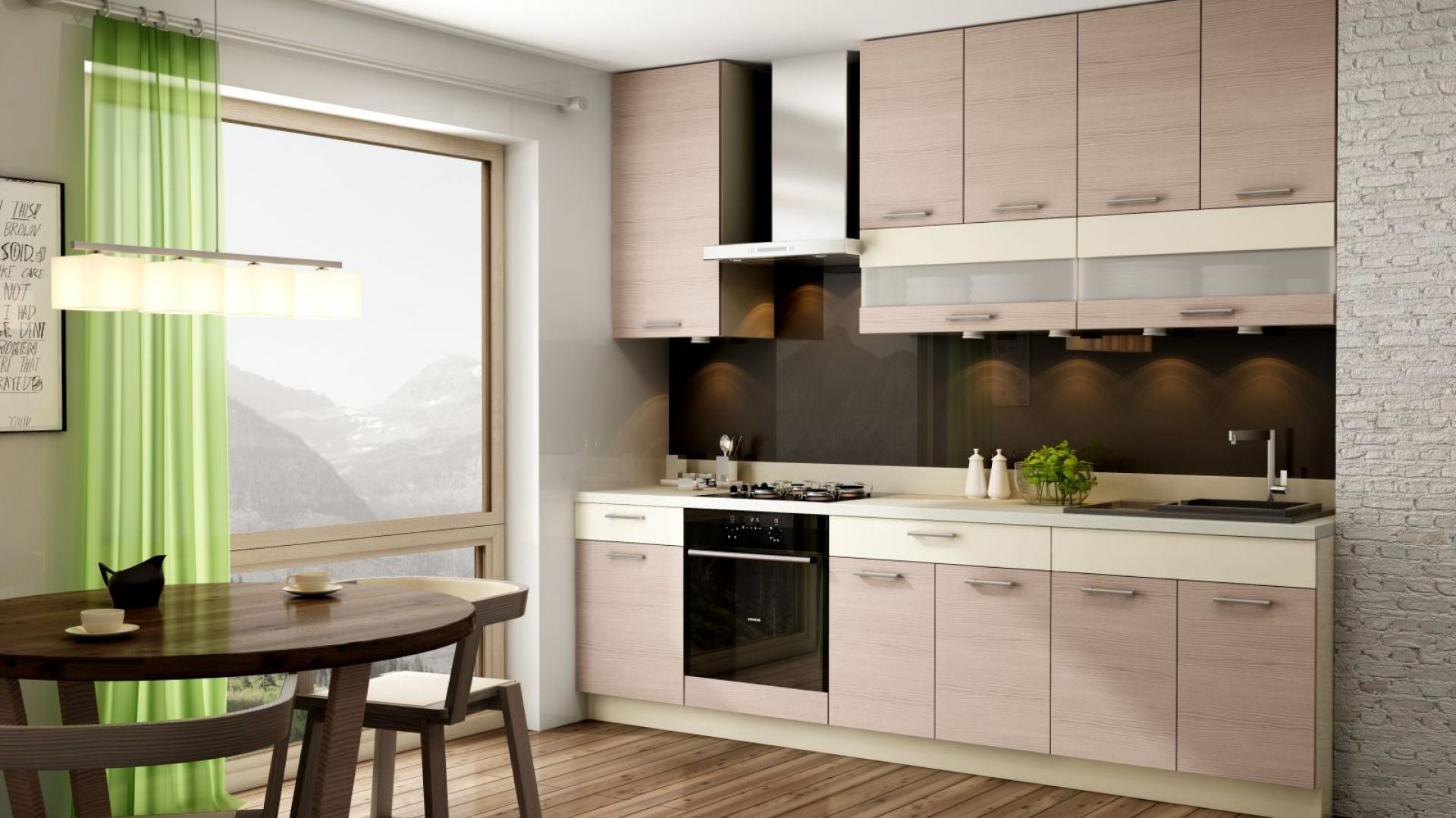 Zabudowę pod sam sufit Kuchnia w małym mieszkaniu   -> Kuchnia Pod Sufit