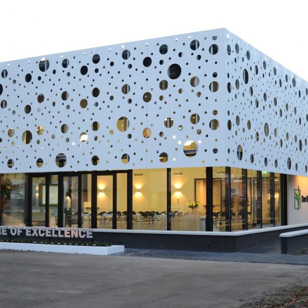 Energooszczędne Centrum Doskonałości otwarte na 40-lecie Den Braven