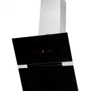 Kominowy model okapu marki Amica posiada aluminiowy filtr przeciwtłuszczowy i sensorowy systemem obsługi Touch Control. Fot. Amica.