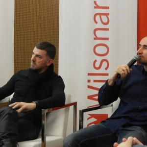 Panami Domu? Nie - projektantami wnętrz - Adamem Bronikowski i Krzysztofem Skłodowskim.