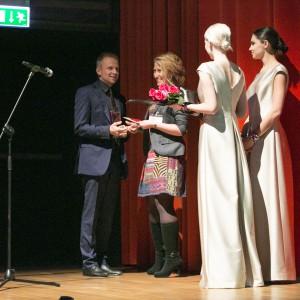 Nagrodę wręczyła projektantka wnętrz Agnieszka Żyła.