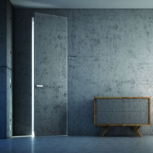 Nagrodę Dobry Design 2015 w kategorii Drzwi i okna otrzymała Linia drzwi z betonem PIU ALU marki Piu Design.