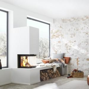Wkład kominowy bsk 10 marki Brunner to najnowsza technologia zamknięta w minimalistycznej formie. Fot. Brunner.