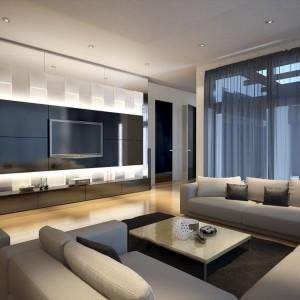 Alu linia drzwi z akrylem to wysokie drzwi marki PIU Design w modnych kolorach akrylu. System drzwi składa się z ościeżnicy aluminiowej, o wzmocnionym 5-komorowym profilu oraz skrzydła w aluminiowej konstrukcji, umożliwiającej zastosowanie ponad 600 rodzajów różnych wykończeń. Fot. Piu Design.