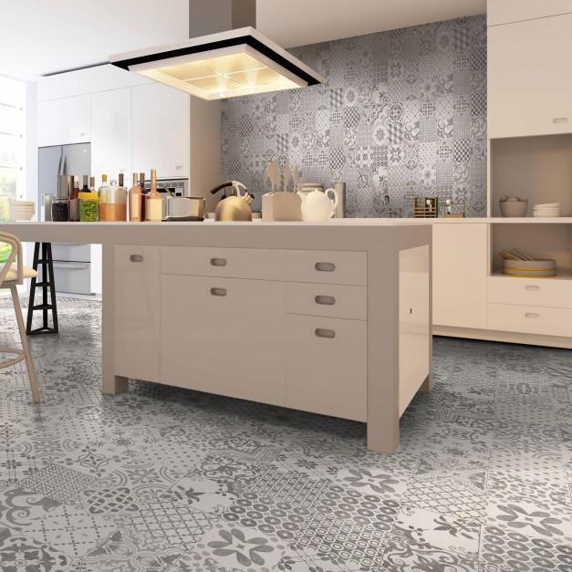 Efektowne płytki z kolekcji Podłoga w kuchni i