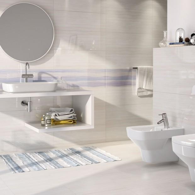 Białe płytki do łazienki – zobacz nowe, ciekawe kolekcje