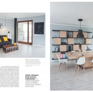 Odmieniona szata graficzna magazynu Dobrze Mieszkaj. Postawiliśmy na estetyczną prostotę.