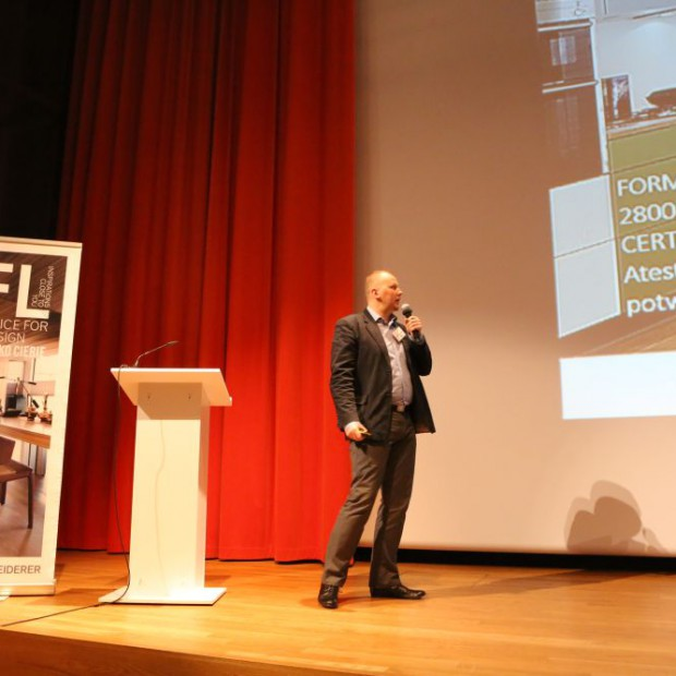 Pfleiderer na II Forum Dobrego Designu