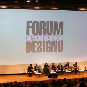 Podczas II Forum Dobrego Designu odbyło się aż 5 paneli dyskusyjnych, w których sławy polskiego wzornictwa i projektowania dyskutowały o szeroko rozumianym wzornictwie. Panele odbyły się na dwóch salach: Audytorium... Fot. Bartosz Jarosz.