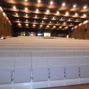 Tak wyglądała sala Audytorium na dzień przed wydarzeniem... Fot. Urszula Tatur.