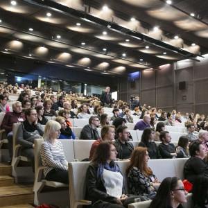A tak, gdy zapełnili ją goście Forum. W sumie w wydarzeniu udział wzięło ponad 700 osób. Fot. Bartosz Jarosz.