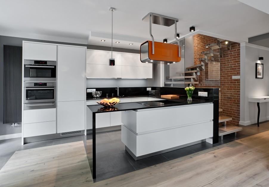 W tej pięknej kuchni, Kuchnia w stylu loft Tak   -> Kuchnia Cegla Okap