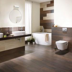 Płytki jak drewno – 15 nowych kolekcji do łazienki