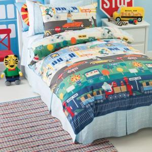 Dzikie zwierzęta podróżujące kolorowymi samochodami zbierają najbardziej kolorowe sny świata, by przywieźć je do łóżka twojego dziecka. Fot. Becky and Lolo.