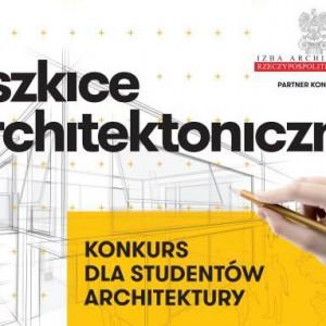 """Weź udział w konkursie – """"Szkice architektoniczne, architektura wyobraźni"""""""
