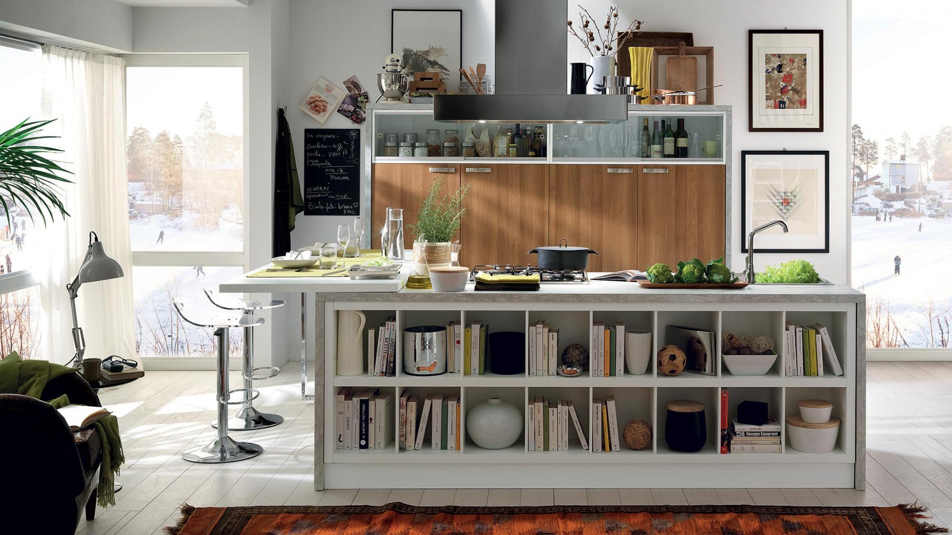 Urokliwa kuchnia, w której Ciepła kuchnia w kolorze drewna Propozycje p