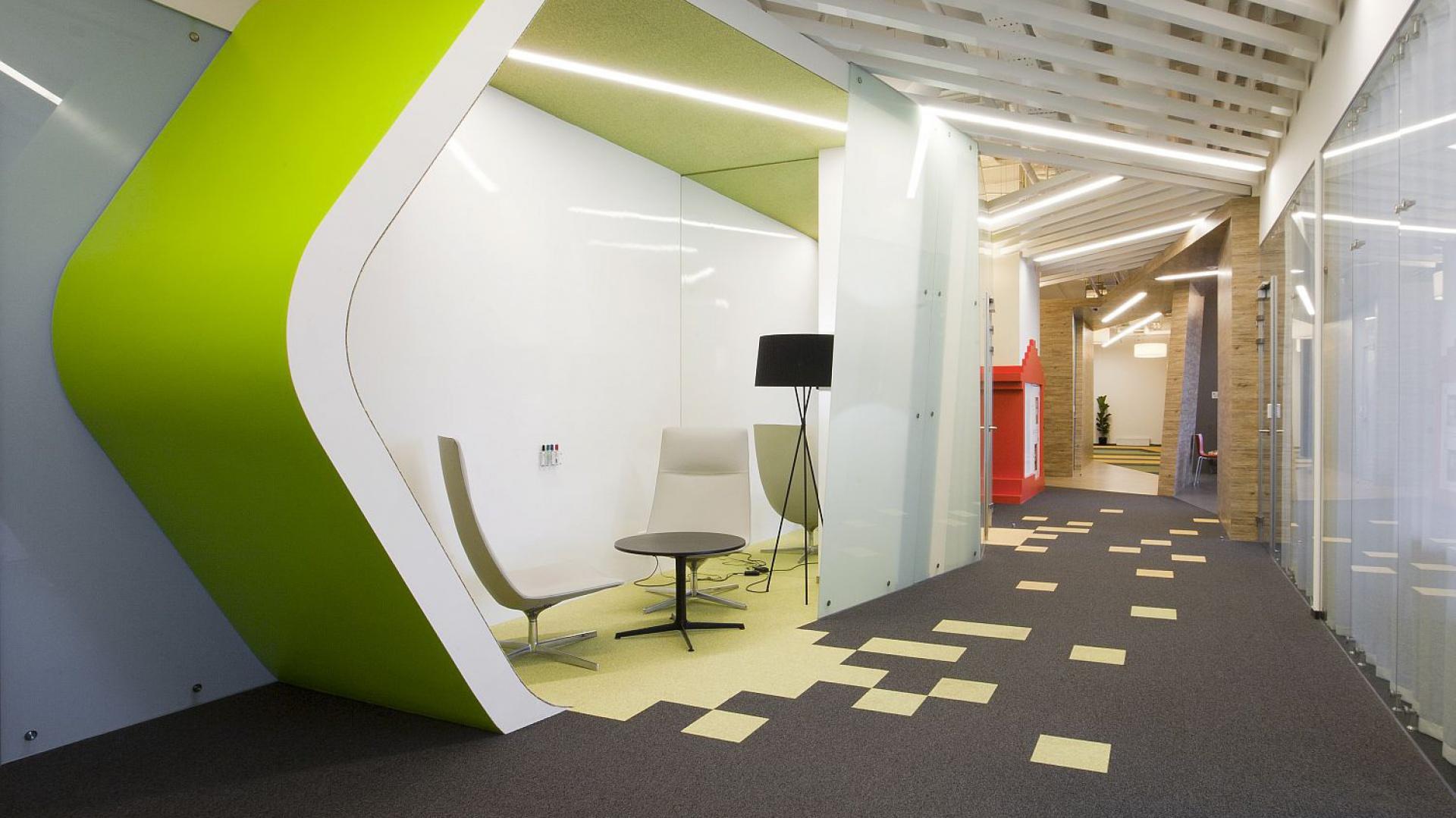 Biuro firmy Yandex w Petersburgu. Fot. Archiwum.