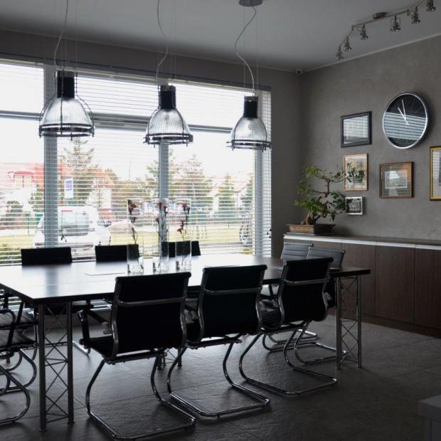 Biuro w stylu industrialnym - zobacz projekt z Gdańska