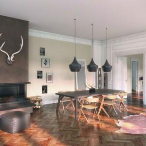 Poza farbami oraz ozdobnymi tapetami, coraz częściej wykorzystuje się także specjalne tynki strukturalne oraz powłoki dekoracyjne, które pozwalają na uzyskanie wyjątkowego efektu na ścianach. Fot. Sto.