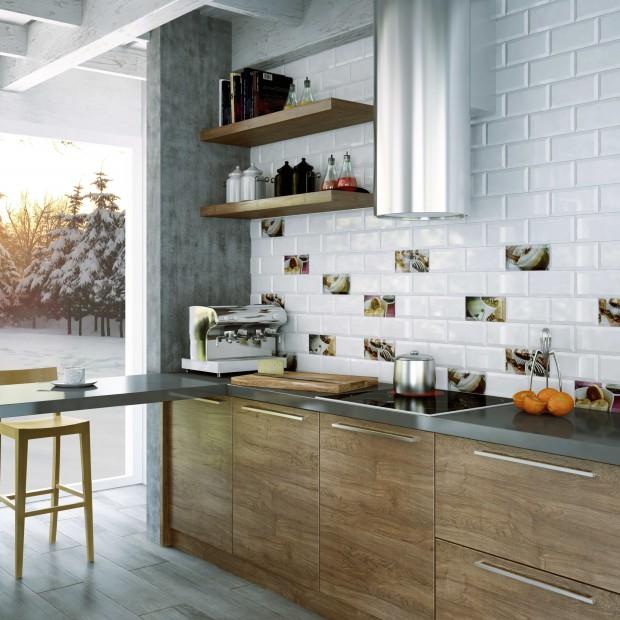 Ściana nad blatem: 14 kolorowych inspiracji od producentów