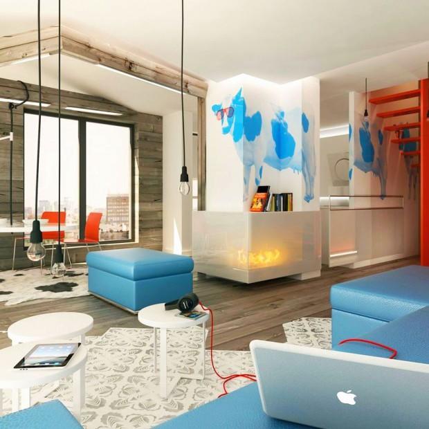 Salon z jadalnią: oryginalny pomysł na nowoczesne wnętrze