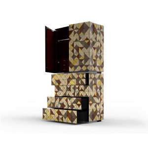 Szafa Pixel Adonized z kolekcji marki Boca do Lobo.