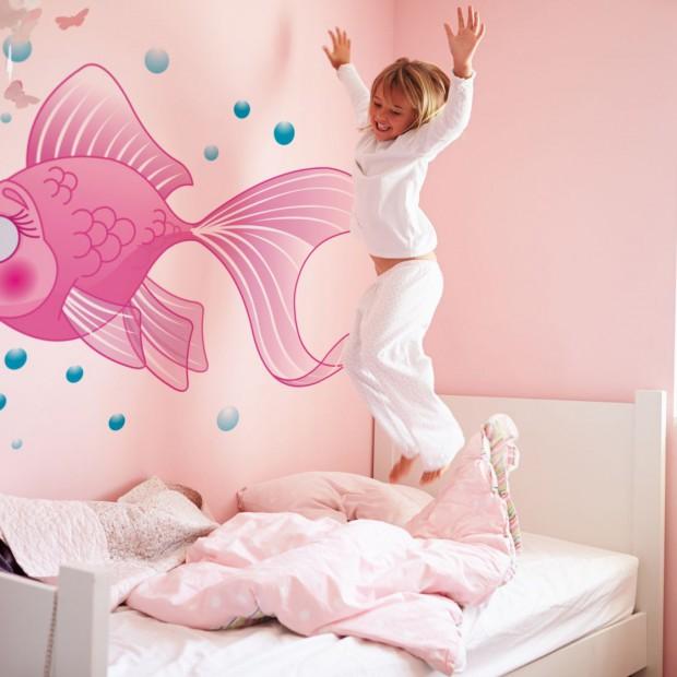 Tapeta dla dzieci. 20 pomysłów na dekorację ścian