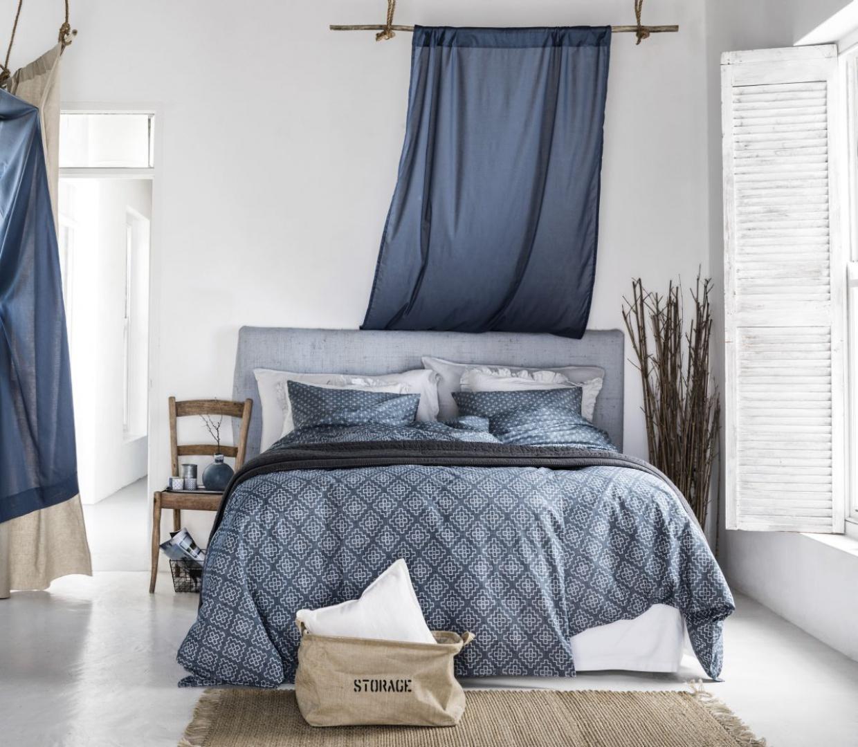 sypialnia w stylu marynistycznym jak j urz dzi galeria. Black Bedroom Furniture Sets. Home Design Ideas