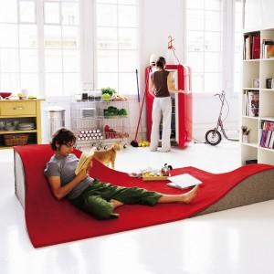 Najbardziej oryginalne dywany. Ciekawe propozycje do salonu