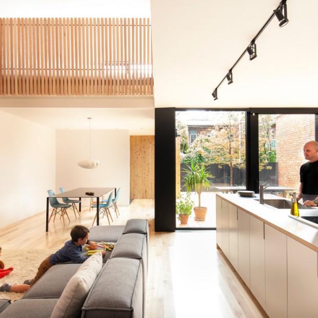 Nowoczesny dom jednorodzinny. Wnętrze pełne ciekawych rozwiązań
