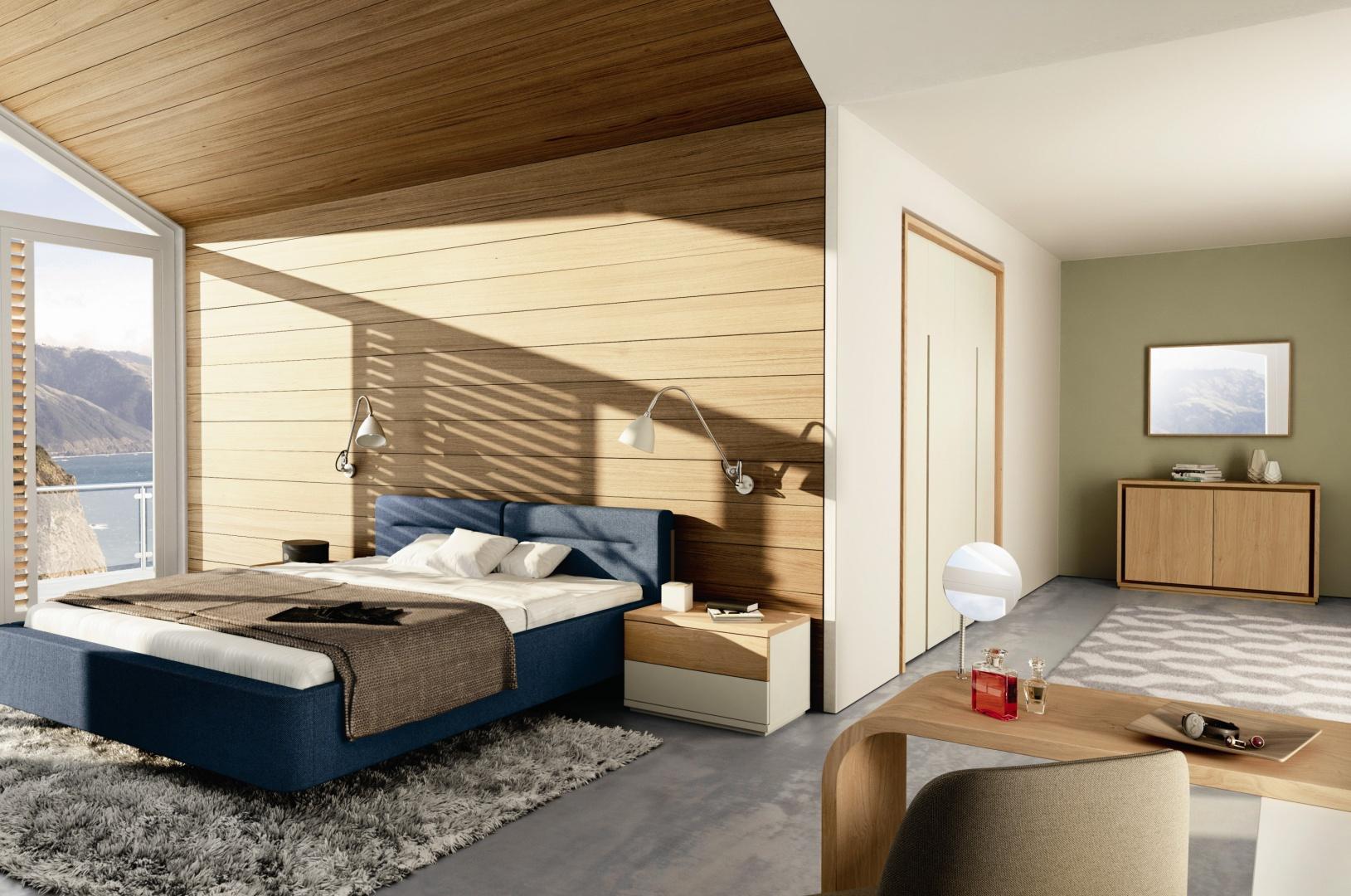bia e meble ocieplone drewnem zobacz propozycje do sypialni galeria. Black Bedroom Furniture Sets. Home Design Ideas