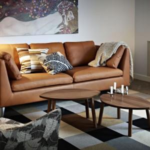 Dzieło sztuki w każdym domu? Dziś to możliwe. Dzięki wydrukom na płótnie każdy może powiesić sobie obraz Gustwa Klimta nad sofą. Do kupienia w IKEA, cena 149 zł (rozmiar 140x56 cm). Fot. IKEA.