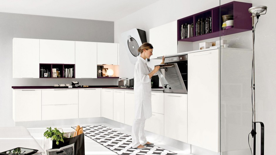 Nowoczesna kuchnia z Elegancka, biała kuchnia Postaw   -> Biala Kuchnia Elegancka