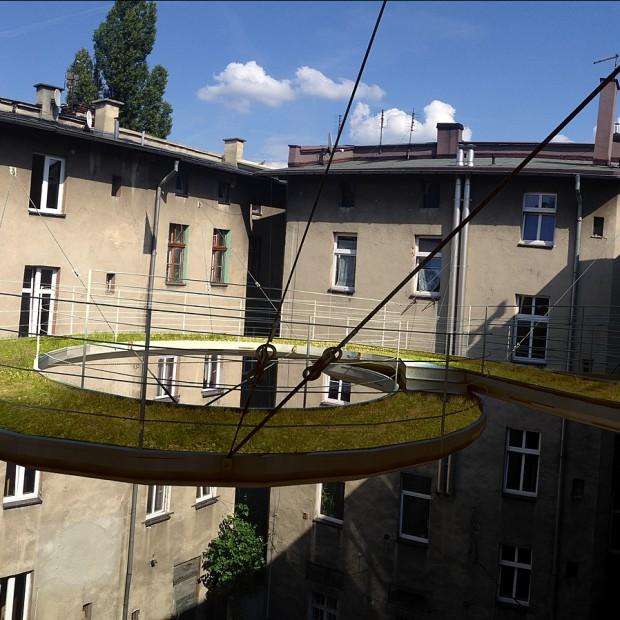 Projekt podniebnego balkonu
