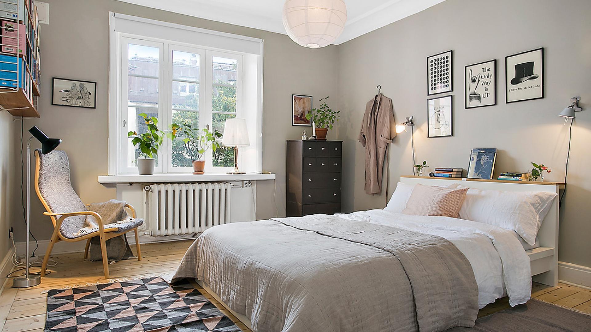 sypialnia w stylu szare ciany pomys na aran acj sypialni. Black Bedroom Furniture Sets. Home Design Ideas