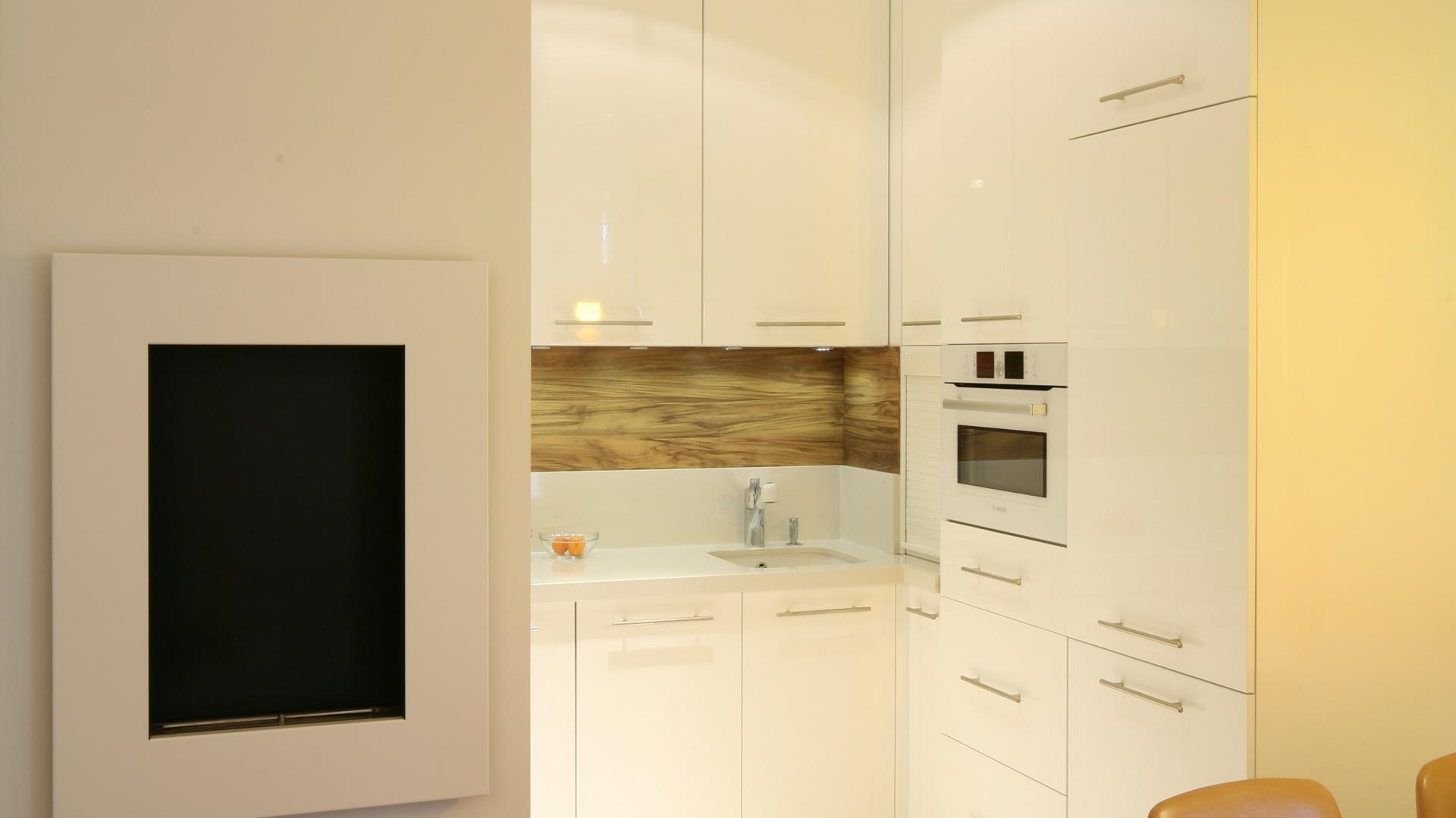 Niewielka, zaledwie Mała kuchnia Zobacz jak urządzić   -> Mala Tania Kuchnia