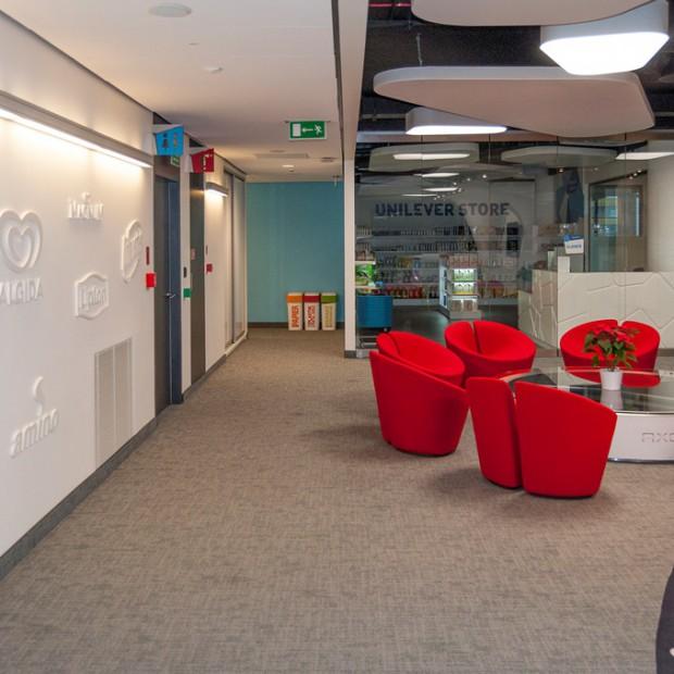 Grupa Advertis zaprojektowała SIW biura Unilever Polska